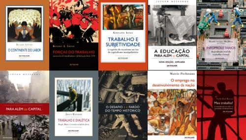 Promoção Coleção Mundo do Trabalho: 40% de desconto nos livros da coleção em comemoração ao Dia do Trabalhador