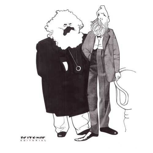 Marx e Engels por Loredano (Boitempo Editorial)