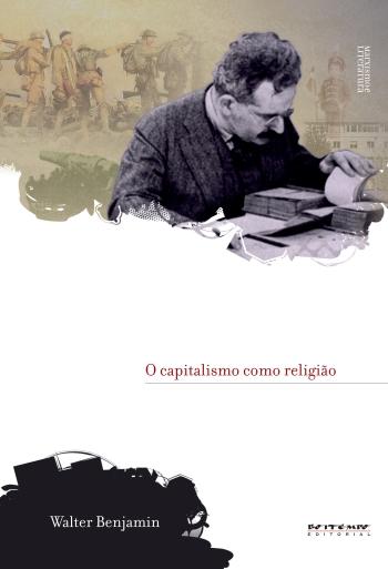 O capitalismo como religião, de Walter Benjamin (capa)