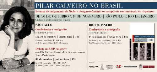 Pilar Calveiro no Brasil
