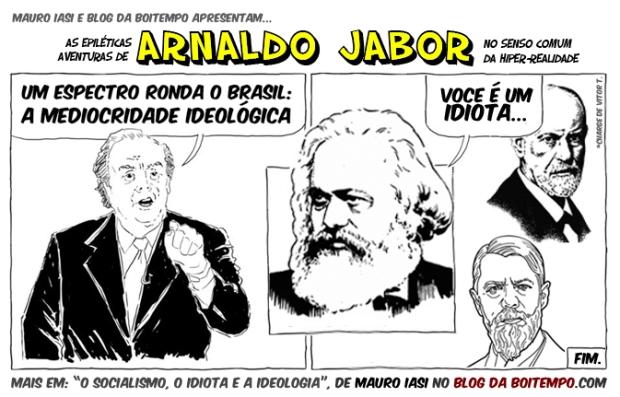 14.01.22_Mauro Iasi_O socialismo o idiota e a ideologia_charge_blog da boitempo