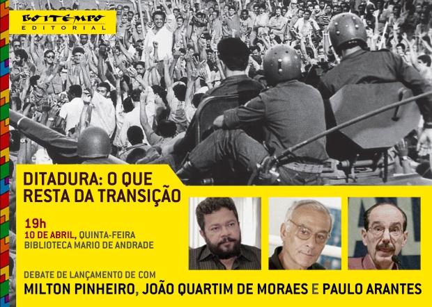 DITADURA_O QUE RESTA DA TRANSIÇÃO