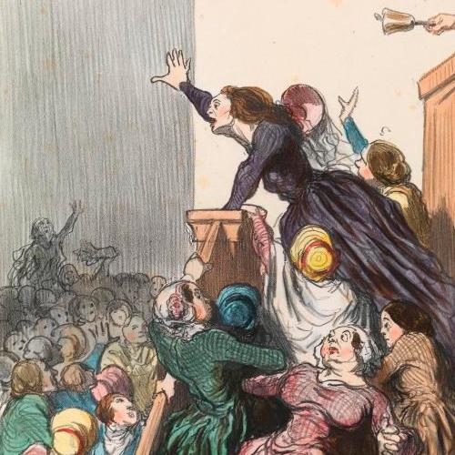 Daumier_Les Divorc