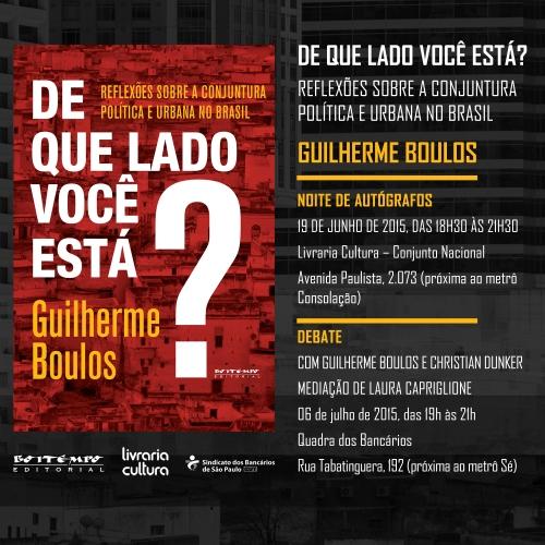 lançamento boulos_autógrafos + debate
