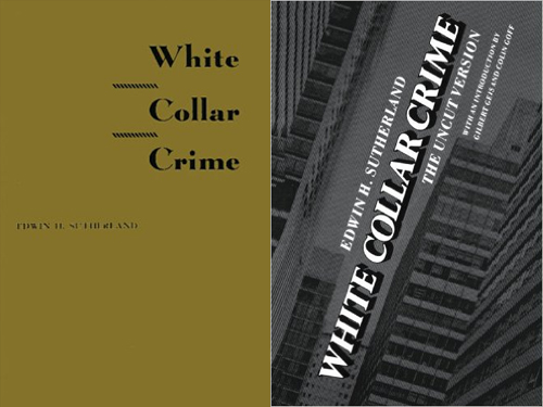 white collar crime edições