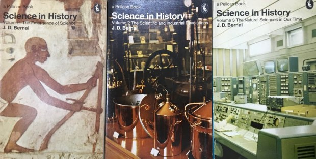 science in history 3 vols