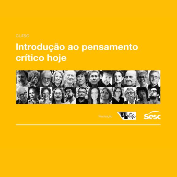 Boitempo libera curso completo de introdução ao pensamento crítico hoje!